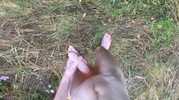 Masturbating Outdoors