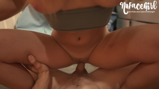 Petite Teen Has Sneaky Fuck in Her Mom's Laundry Room - Amateur NoFaceGirl porno