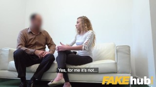 Model perfect french and in casting sexy fuck blowjob fake agent blonde reality big