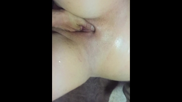 Cum Drenched Covered Sexy Bitch