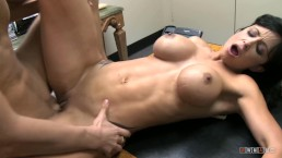 Busty lover complain so dude drill her tight pussy raw