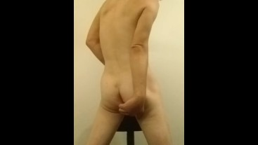 Stripping & Fingering Asshole