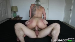 Hot Blonde Teen Just Likes Fucking OLDER MEN. Getting Paid Is Just A BONUS!