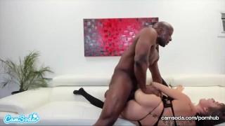 CamSoda - Riley Reid and Prince Yashua Interracial Sex Blowjob