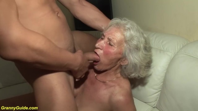 Latina grannies porn movies - Granny in her first porn video