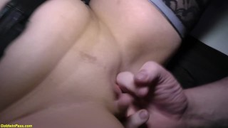 milfs first anal DP gangbang party Guy used
