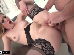 : Ella Nova intense RAW anal sex