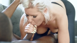 Very Deep Painfull Anal Ass2Mouth with Huge Black Cock, Ripped yoga pants