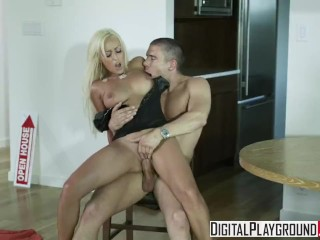 Digital Playground - Cute blonde Breanne Benson knows how to make a sale