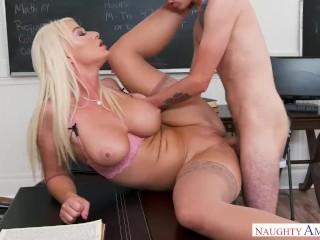 NAUGHTY AMERICA TEACHER FUCKING FRAT BOY