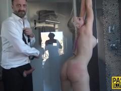 Squirting dominated slut