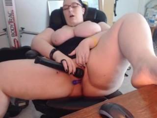 Cumming At Work