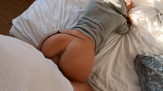 Fit amateur young wife back from training-morning sex Squeal cutie