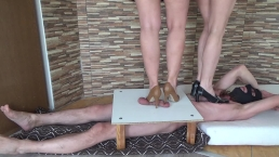 high heels cbt and trampling