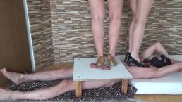 high heels cbt and trampling