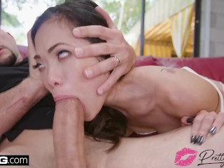 Vina Sky gets fucked hard in some crazy wild sex positions
