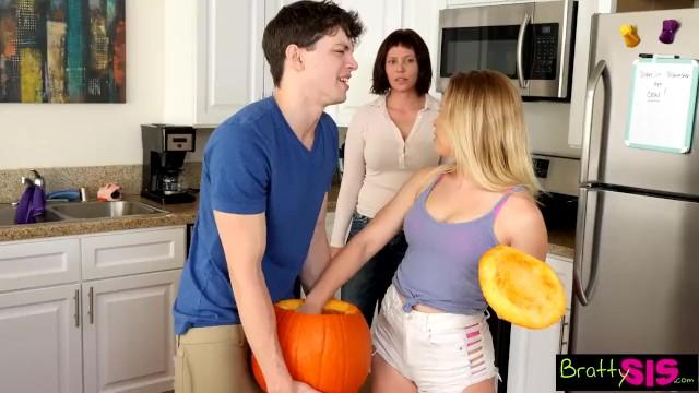 Penis fuck pumpkin - Halloween pumpkin fuck