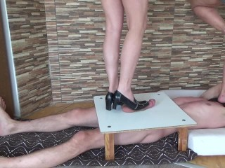 Xxx Tubes German high heels cbt and trampling - part two