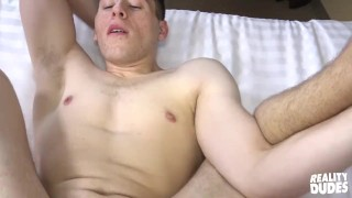 Reality Dudes - Alex is gay for pay Jerking ass