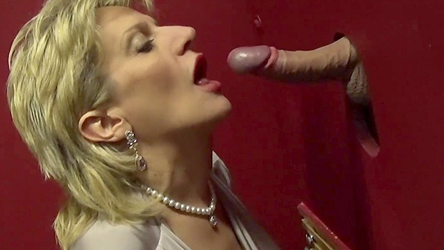Busty polish sonia - Busty british mature lady sonia visits a gloryhole