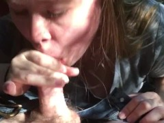 "POV BJ in wood ""death by concrete"""