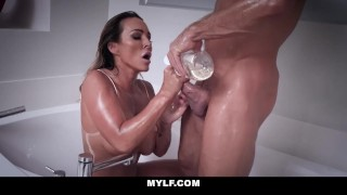 Cum milf and australian with mylf fit filled fucked shaved pussy