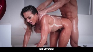 MYLF - Fit Australian Milf Fucked and Filled With Cum Tits balls