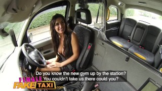 Female Fake Taxi cum in mouth wild fucking and creampie for Princess Jas Hd asian