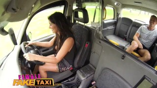 Female Fake Taxi cum in mouth wild fucking and creampie for Princess Jas Deepthroat tits