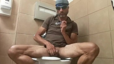 PMP smoking in a public restroom in a Hospital almost get caught