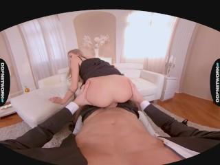 Cyber Seductress Tiffany Tatum Hardcore 5K VR POV Fuck Session