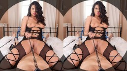 Get dominated by curvy chick Coco De Mal in this VR POV XXX cowgirl ride