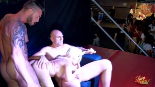 Two big cock for Belinda Rubio