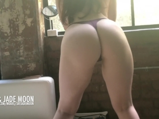 Twerking for the Creampie • JayJadeMoon Amateur Couple