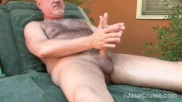 Jake Cruise Jacks Off Outdoors