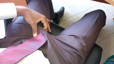 Hidden Camera Films Cock Rubbing At The Office