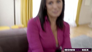 Step MomsTeachSex - Step Mom And Son Cum Together S9:E1 Big busty