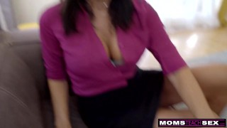 Step together cum momsteachsex mom and son step se mom friends