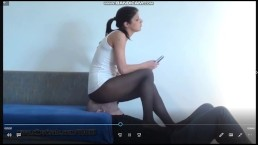 facesitting pantyhose