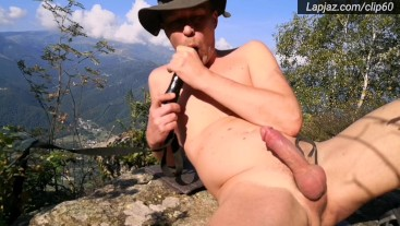 Self anal creampie on cliff - Lapjaz.com