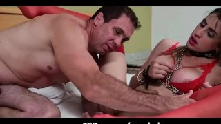 Big Man Sucking Shemale Cock