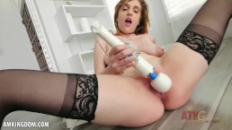 Autumn Gram is so hot playing with her cunt
