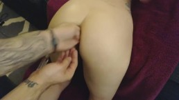 A little hands in places anal training