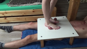 cock balls stomping - CBT Trampling