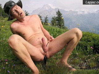 Flower Mountains Anal Fuck Solo Male Nature - Lapjaz.com Ecosexual Ecoporn