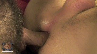 Muscle Daddy Gives Propper Breeding Fuck blowjob