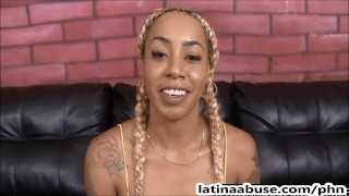 Gringos latina slut's gangster throat by destroyed latinathroats facefuck