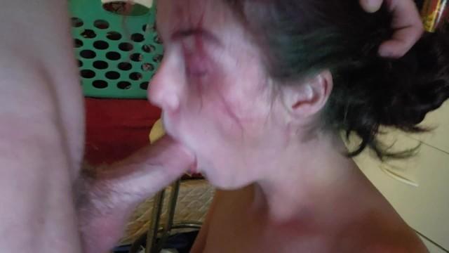 Girl Sucking My Dick Till Cums