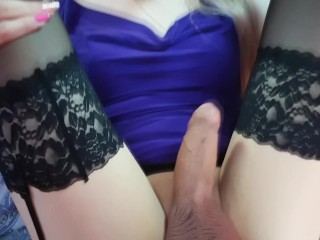 Daddy's Sissy Slut Getting Anal Pleasure