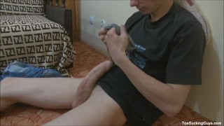 Horny Twink With A Foot Fetish Fantasy romantic
